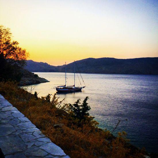 Sunset Symi  Summerbreeze 🌞🐝