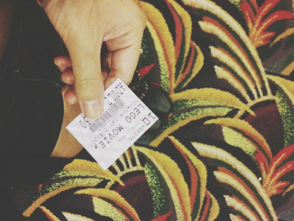 my Saturday Night (: The Lego Movie Movies Movie Ticket