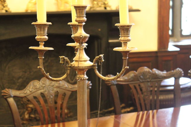 Antique Close-up Day Estate Focus On Foreground Illuminated In A Row Ireland Irelandinspires Ireland🍀 Malahide  Metallic No People Ornate Part Of Pipe - Tube Selective Focus