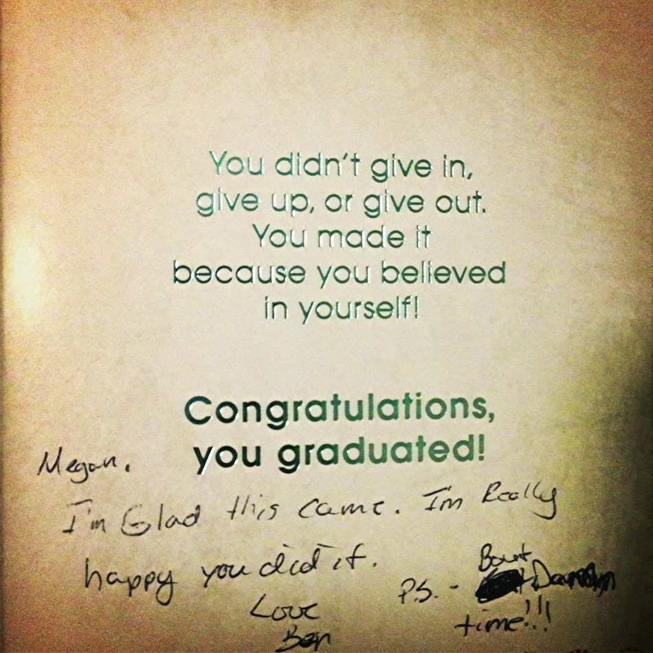 Card From My Brother