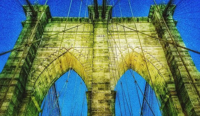 Steel Cable Famous Place NYC Photography New York City Photos New York Brooklyn Bridge  Architecture Brooklyn Bridge  NYCNights Nycarchitecture