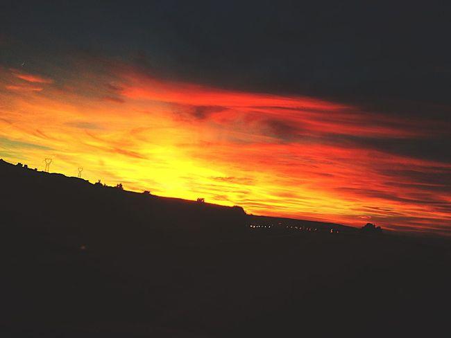 Skyonfire Memoryof November13th Prayforparis Rip Sky Clouds Nature Rebelious