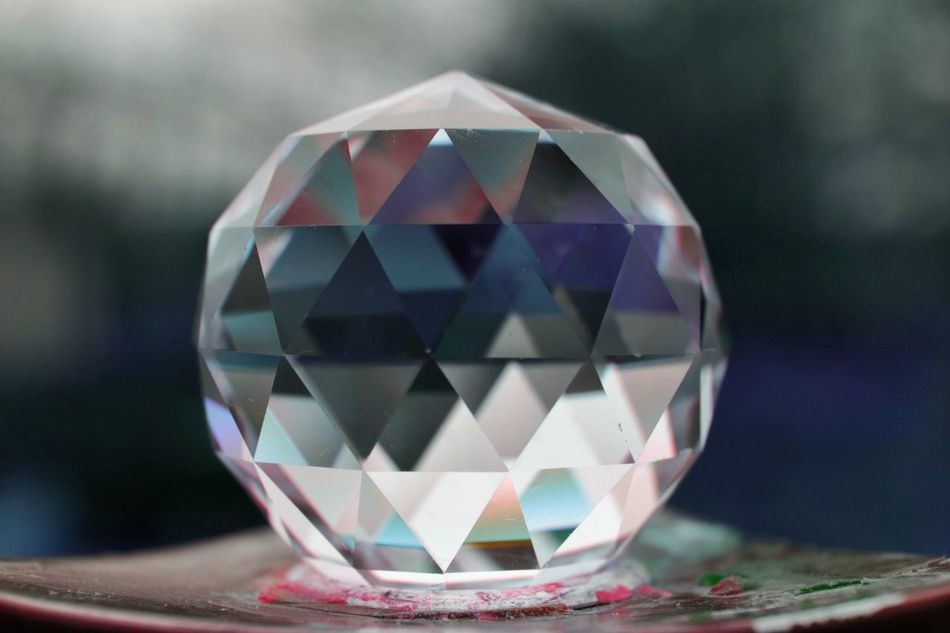 prism Sphere Reflection Crystal Purity Crystal Ball Refraction Shiny Colorful Prismacolor Prisma Art