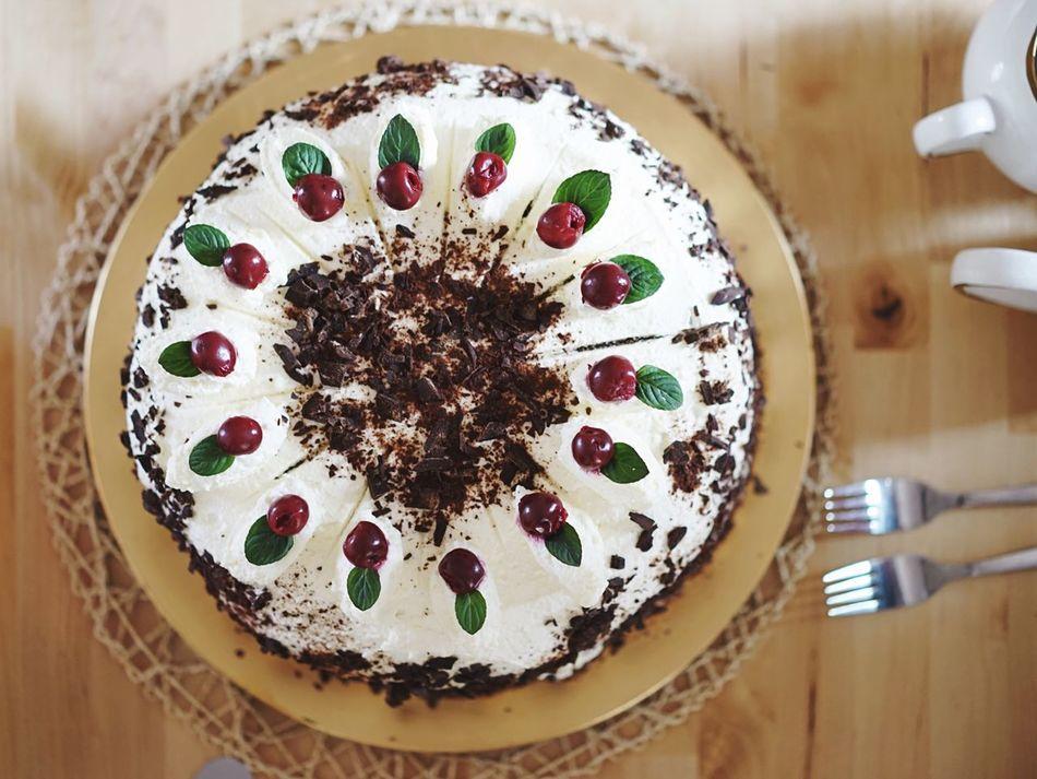 Beautiful stock photos of cake, Cake, Cherry, Close-Up, Dessert