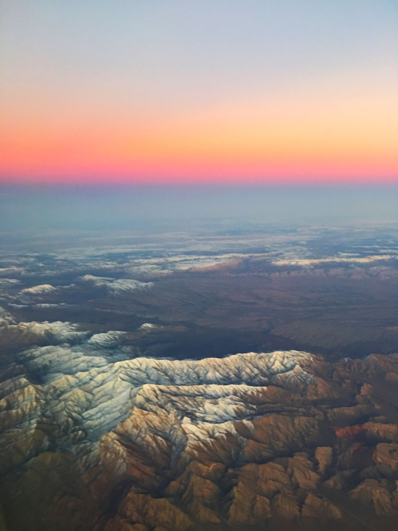 Winter desert Aerial Scenics Beauty In Nature Nature Tranquil Scene Sunset Tranquility Landscape Physical Geography Idyllic Sky Outdoors Environment Dramatic Sky No People Day Aerial Photography Travel Desert Landscape Desert Beauty