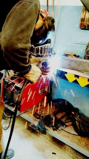 Welding Industry Workshop Metal Industry English Channel Ovetallchoppers