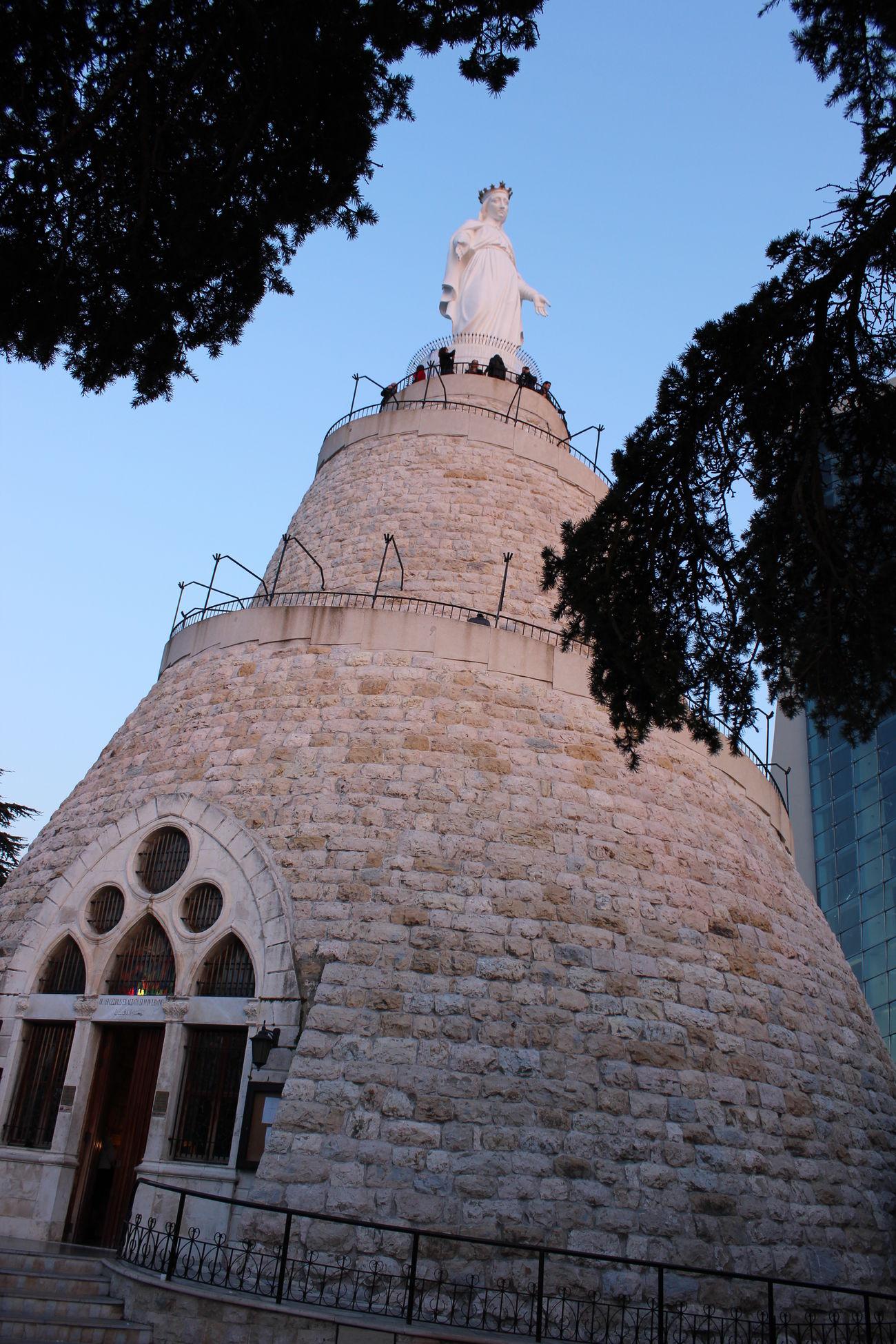 Virginmary Church Nature Bluesky Harissa