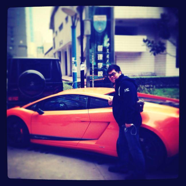 管理學院就是不一樣~ Lamborghini