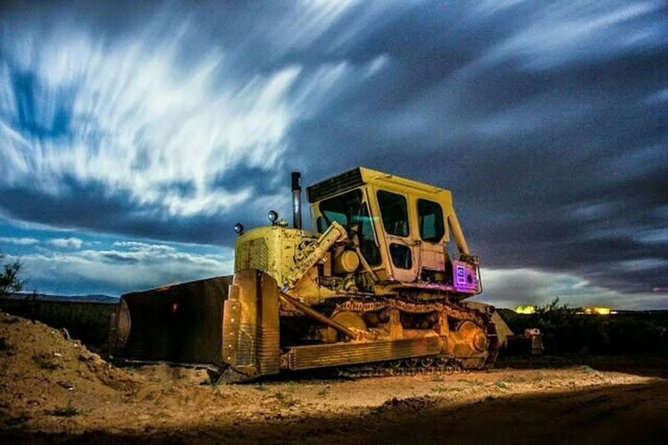 Night Night Night Photography Buldozer Hanging Out Check This Out Relaxing Enjoying Life For Sale Landscape Lake Powel