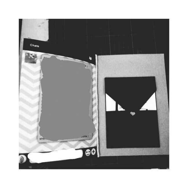Morning ☀ wechat version d.i.y birthday card 🎂