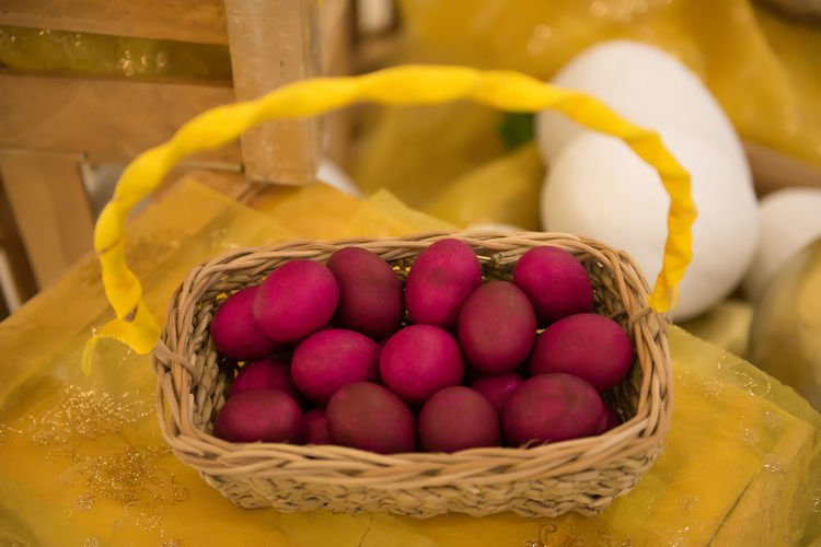 Basket Of Eggs Close-up Day Easter Egg Basket Eggs Eyeem Philippines Food Freshness Healthy Eating Holiday - Event Indoors  No People