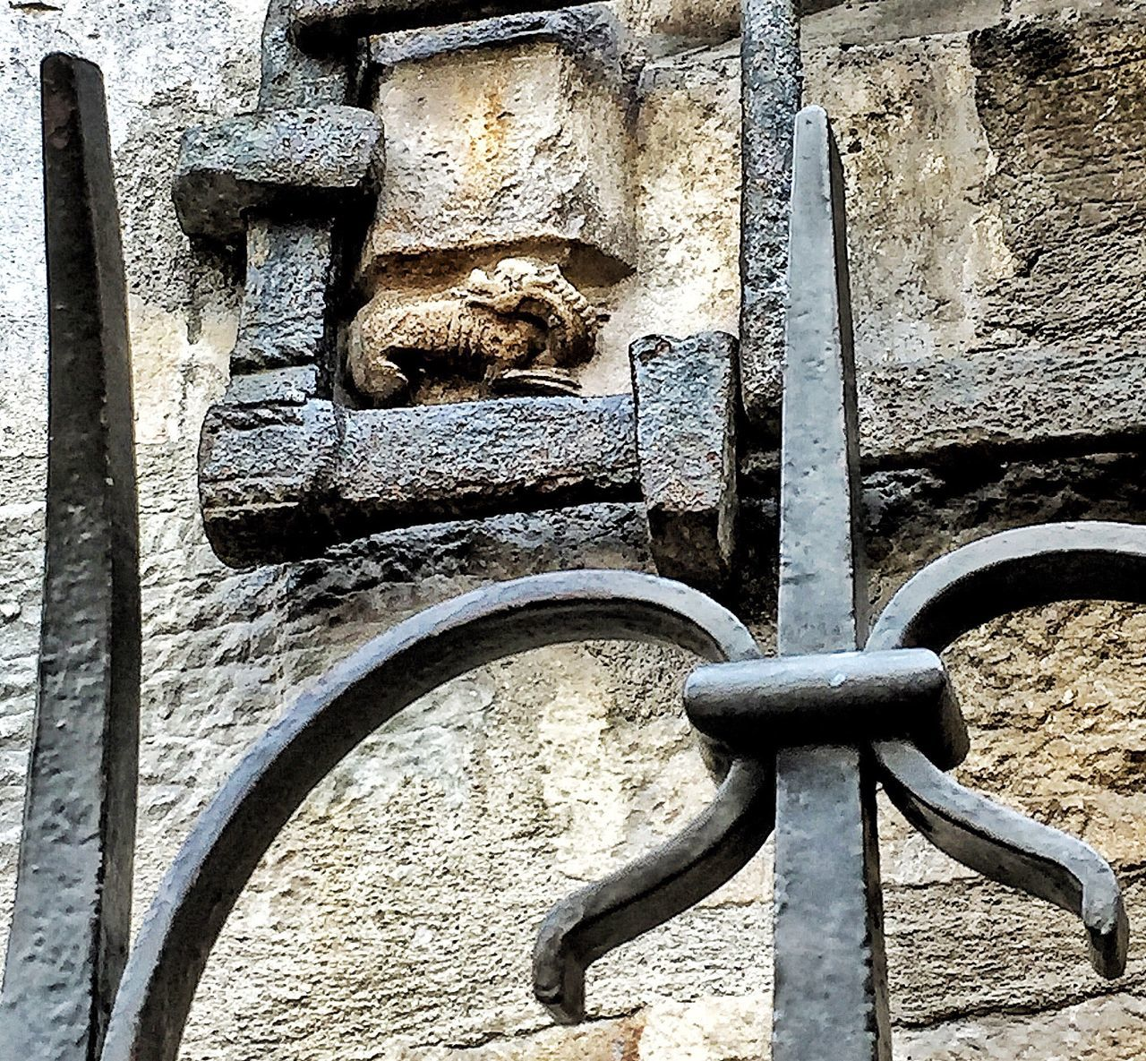 "Salamander or Dragon of Church ""Notre Dame"" of Dijon France Traveling"