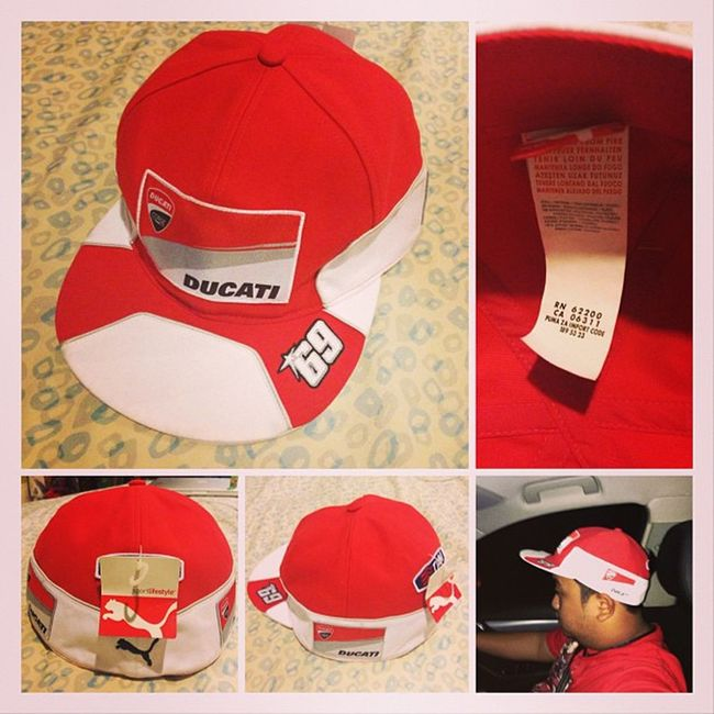 Tora datang lagi!! 2012 Personal Official Nicky Hayden Full Cap ... http://www.ebay.com/itm/290759995445?redirect=mobile Hayden  Ducati Puma 69