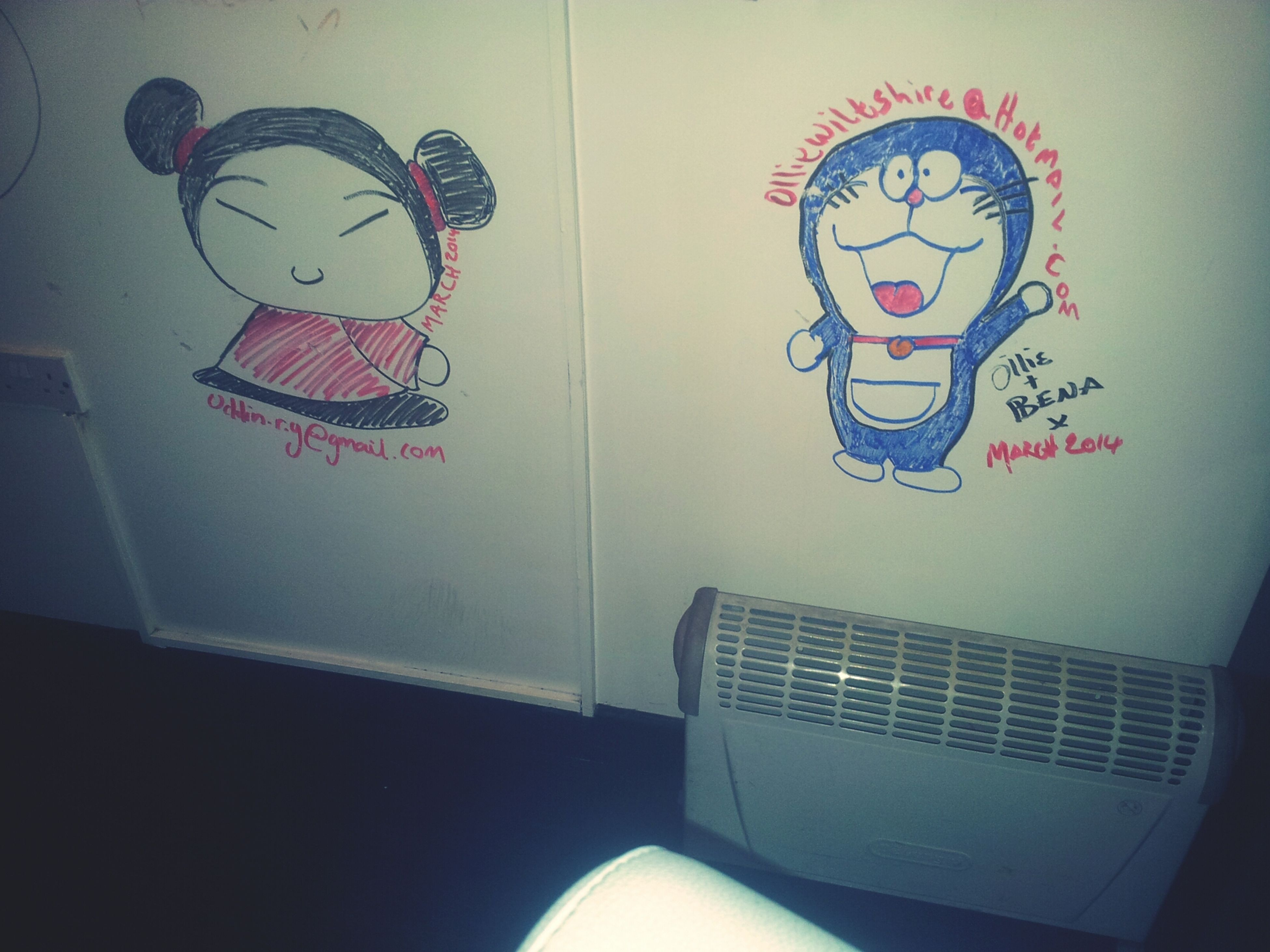 Pocca And Doraemon Together In Ceena