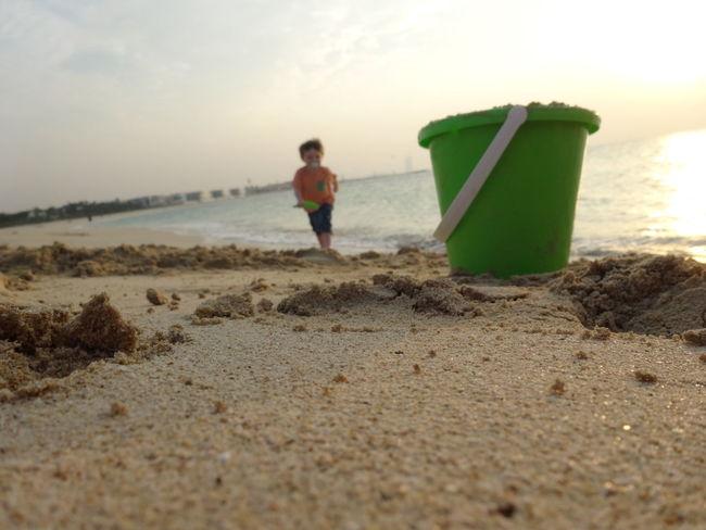 Dubai Beach Baby