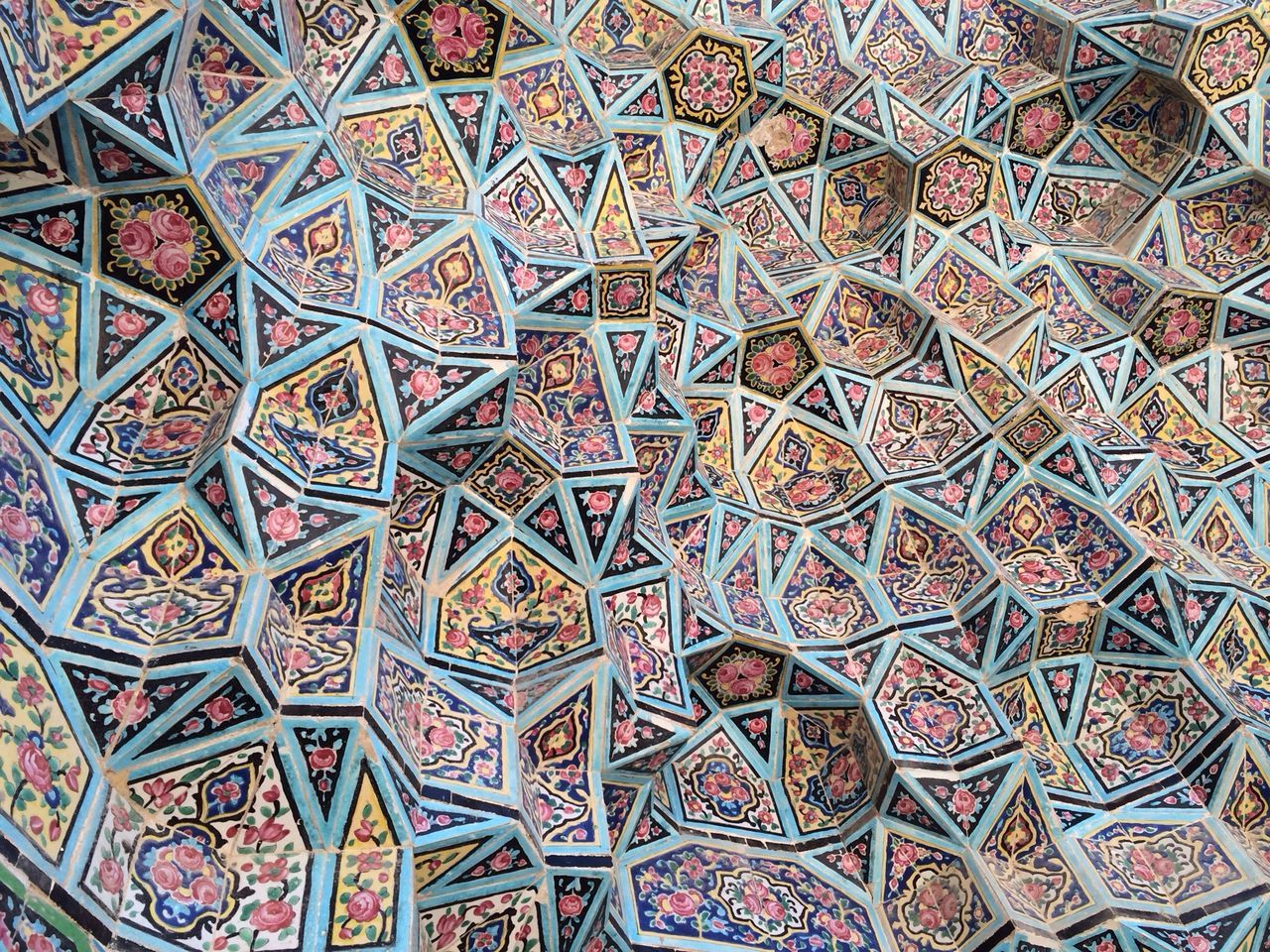 Persian Art Mosque Traveling Design