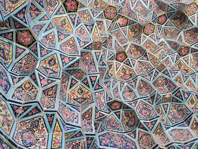 Persian Art Mosque Traveling Design