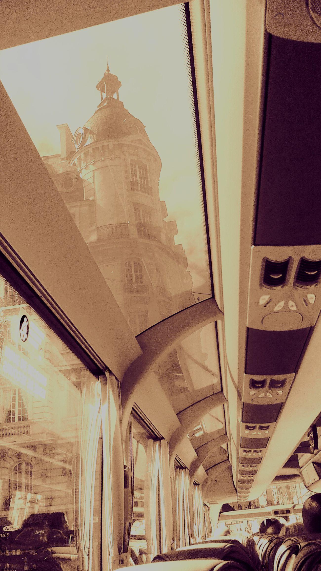 Tourbus Taking Photos Paris, France
