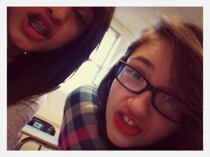 just being our normal selfs ... retards . c}: @miranda_irene