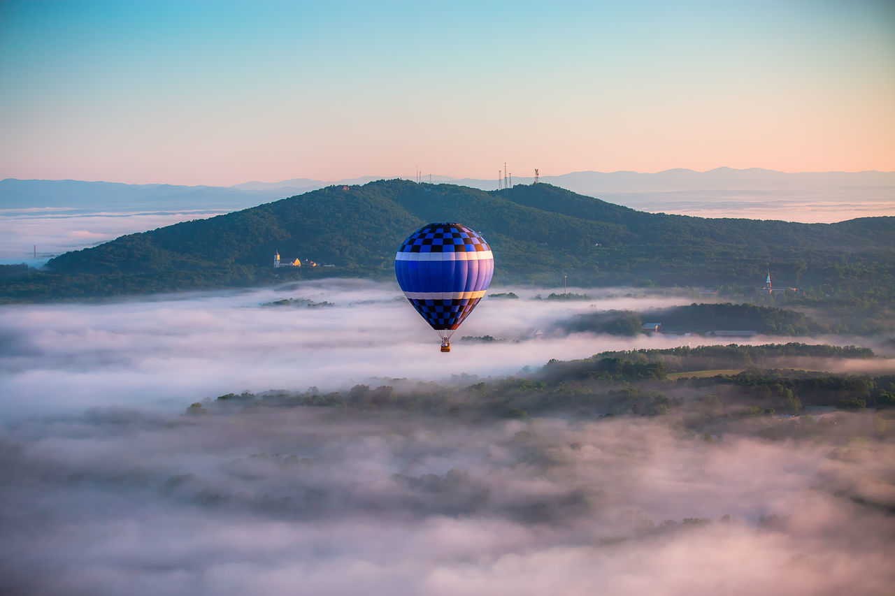 Beautiful stock photos of balloon, Beauty In Nature, Cloud, Cloudy, Copy Space