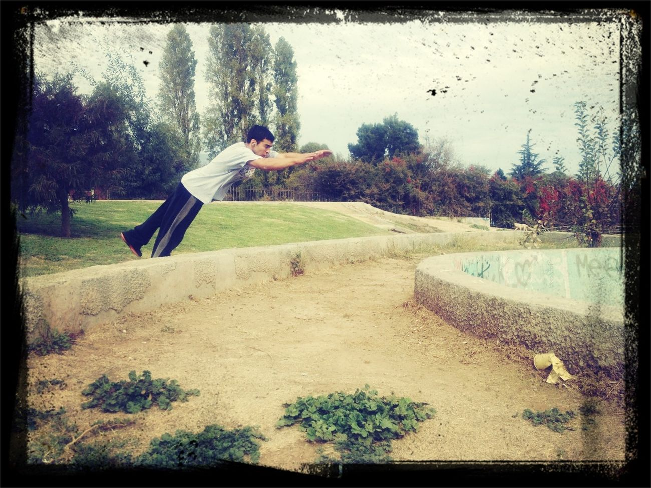 Trainning Parkour