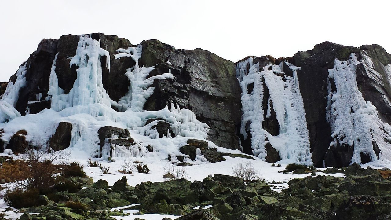 Espectaculos que nos regala la naturaleza. Los Canalizos, cascadas de hielo Winter Nature Nature_collection EyeEm Nature Lover Cold Days Taking Photos Climbing A Mountain