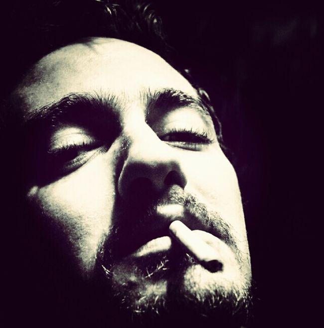 Smoking Black&white Photoshoot Studio