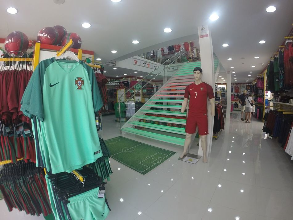 Inside The Official Portugal Football Shop...x Portugal Portugal Football Football Shop Retail  Football Shirt Soccer Soccer Shirt Football Club First Eyeem Photo Kit Footy
