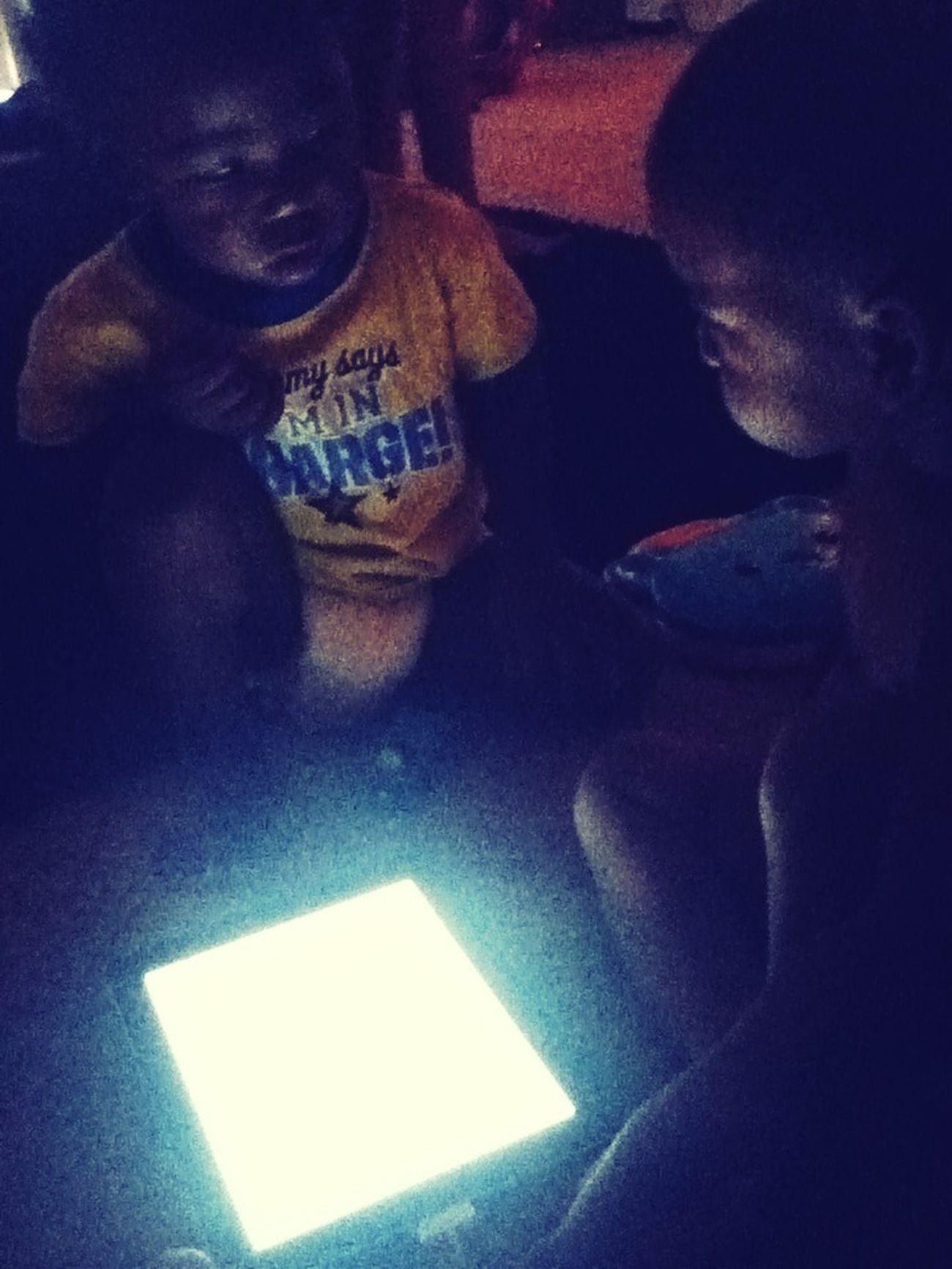 My Nephews Ipading It Out Lol