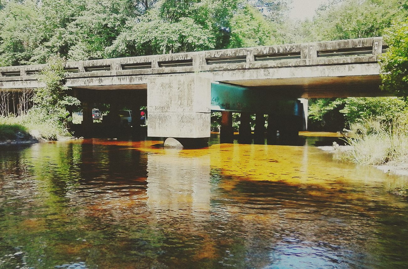 Ochlawaha Creek Lake Life Country Life Bridge Florida Hwy 267 Lovely Weather Beautiful Day Enjoying The Sun