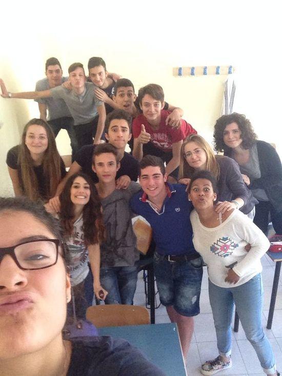 having fun at school ;) School