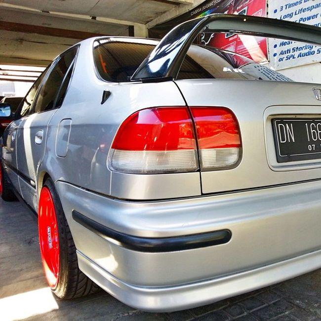 Honda Access Wing Ek4 Hondacivic 4Door SIR