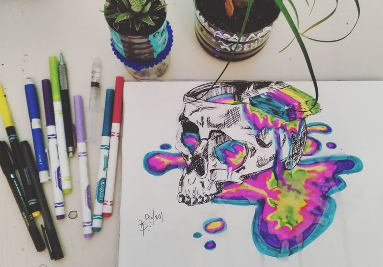 Cromosomas. Multi Colored Indoors  No People Day Drawingtime Colorful Drawing Photography Artist Mydraw White Color Fullcolor 🌈 Cromer Crom Walls Natural Beauty EyeEm Trippy Night Photo Journey Camera Die Befree Storm