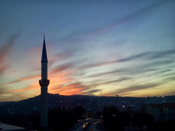 Sunset Sky_collection Clouds Mosque