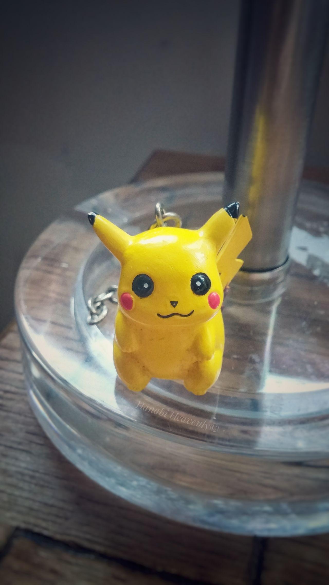 Yellow Pikachu Pokémon Keychains  Cute