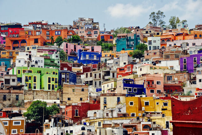Mexico Architecture Building Exterior Built Structure City Cityscape Day Mexicolors Multi Colored Outdoors Residential Building Travel Destinations
