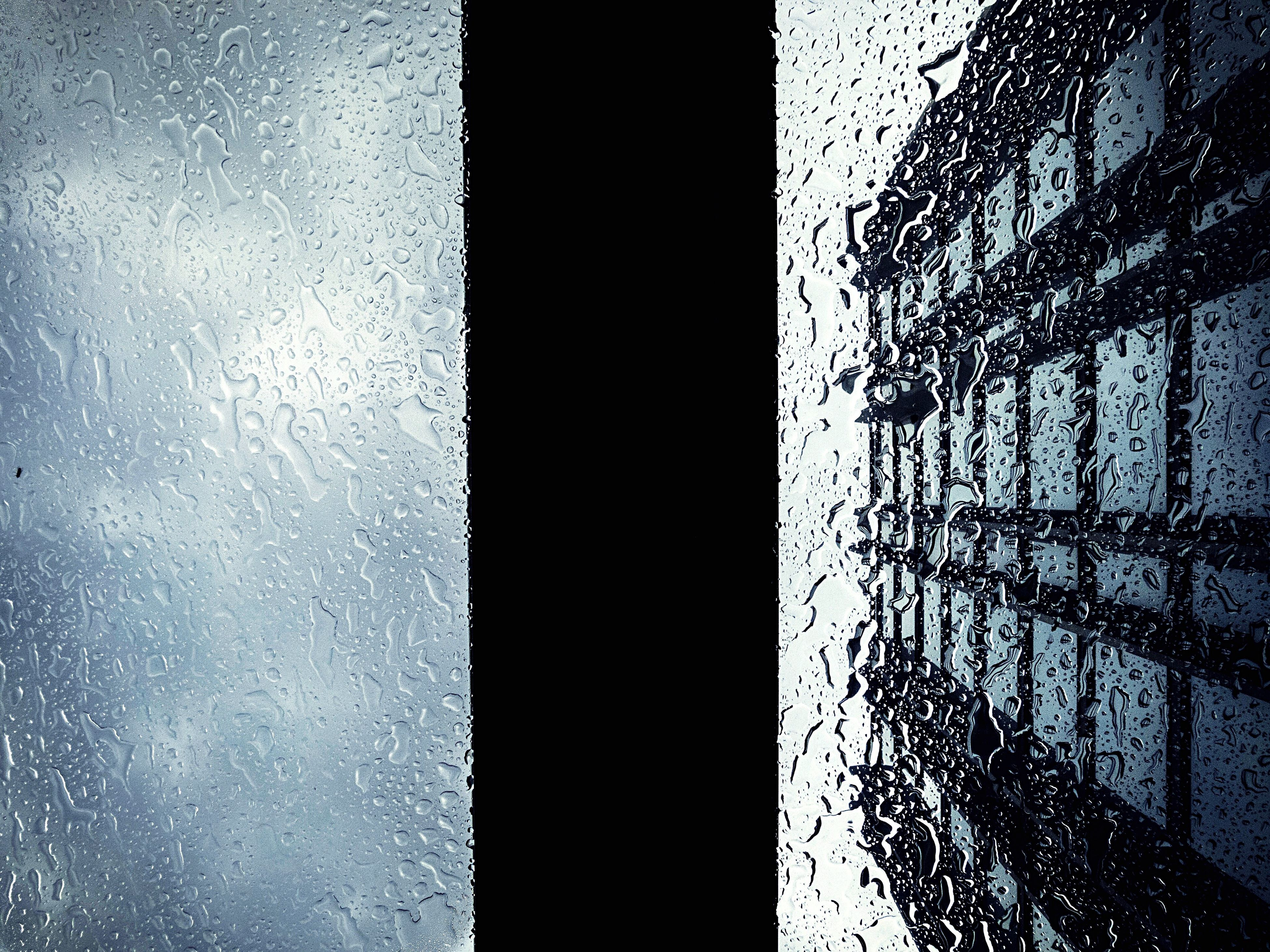 full frame, backgrounds, pattern, window, textured, indoors, no people, frosted glass, close-up, water, sky, day