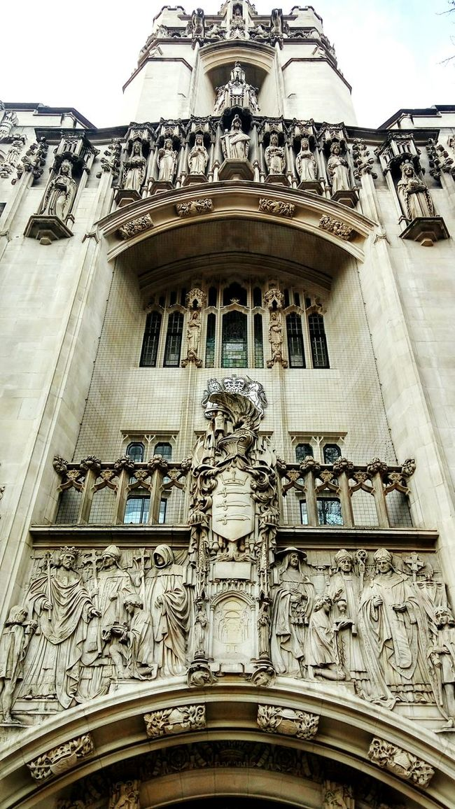 The Supreme Court.. Architecture Built Structure Sky City Day Outdoors Low Angle View City Urban Best Of EyeEm The Supreme Court Old Buildings Old Courthouse Westminster London Beautiful Building Exterior Building No People Law Statues