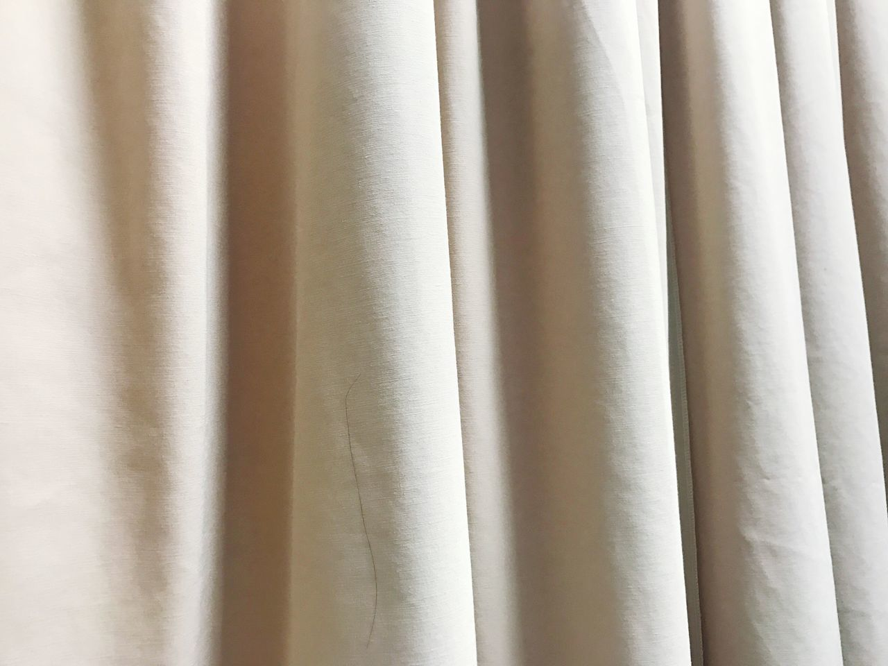 Full Frame Shot Of White Curtain