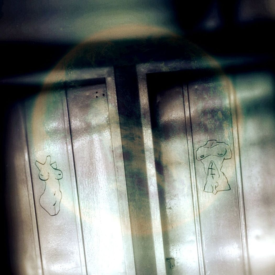 Hers and His toilet signs. Noid Photography Check This Out Taking Photos Eunice PhonePhotography Interesting Pictures
