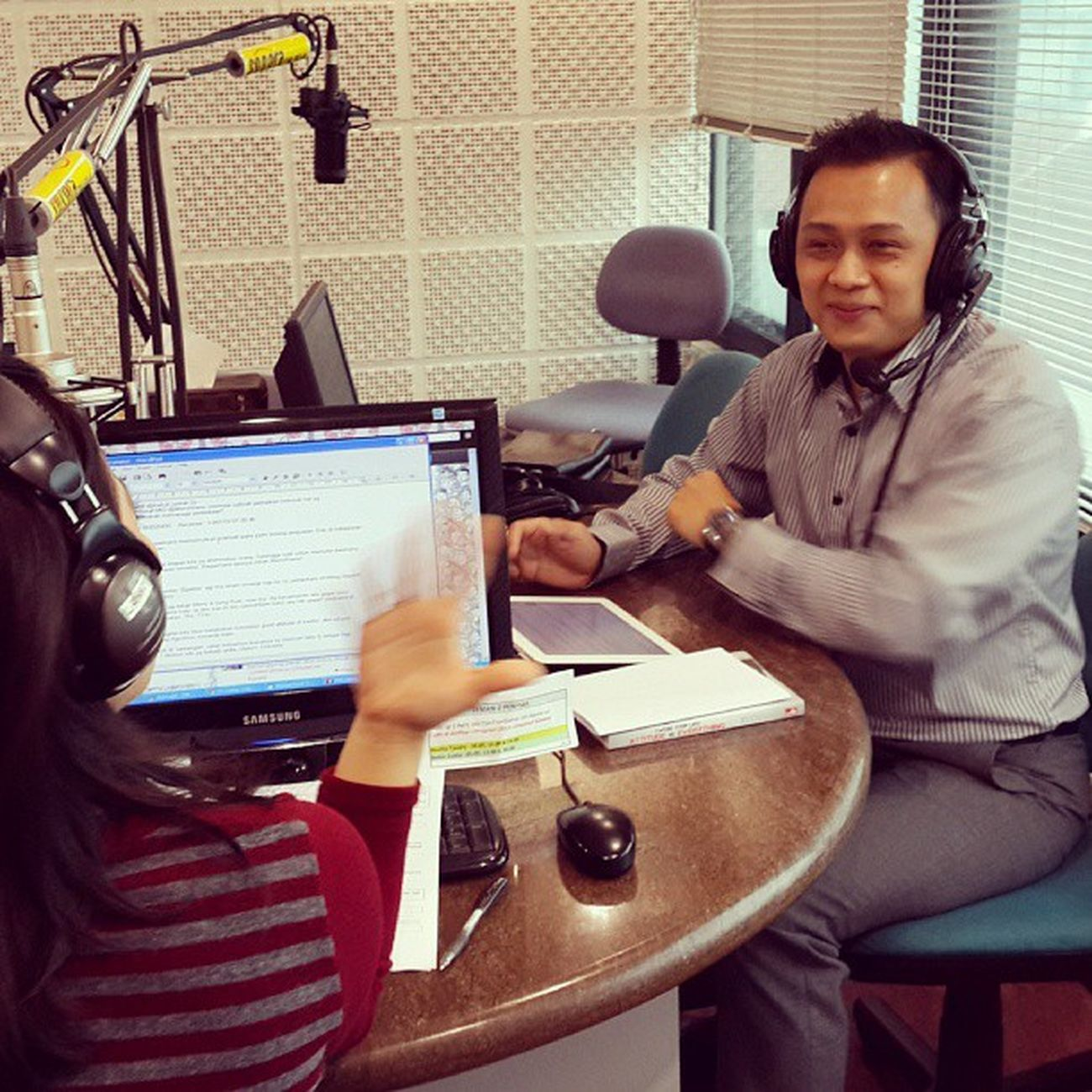 Talkshow di Radio @sonora92fm with @MerryRiana TheMerryRianaShow