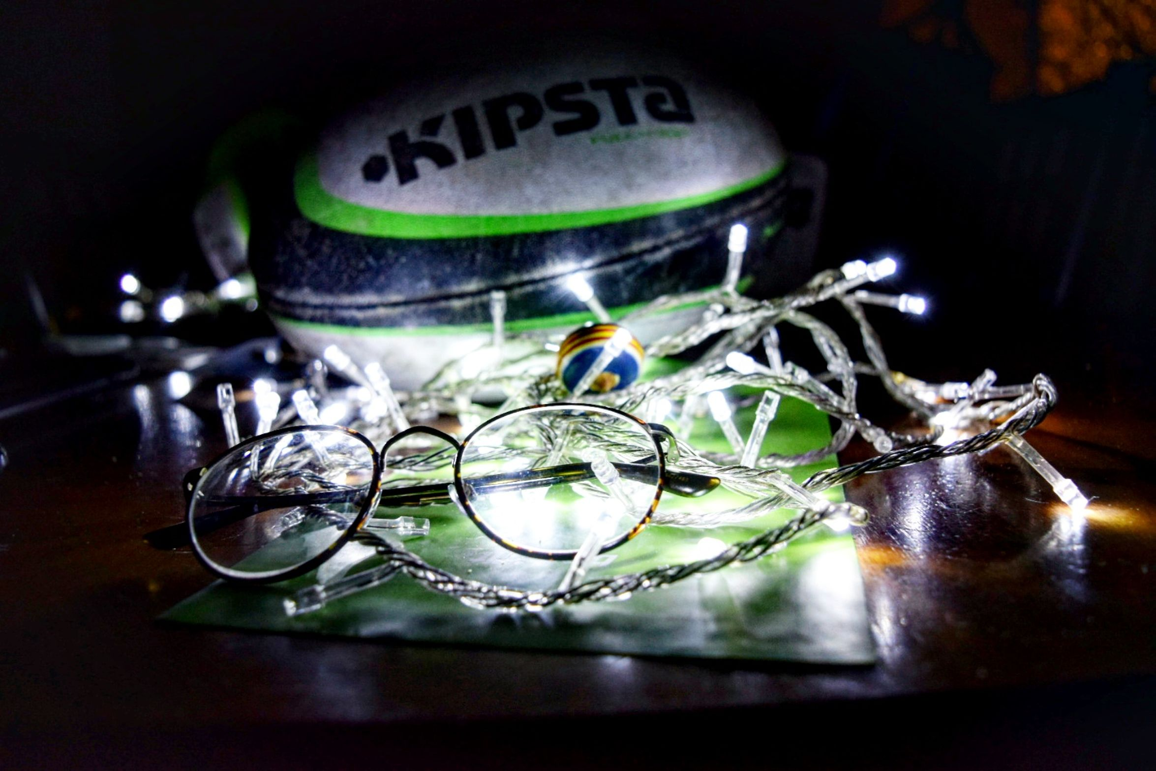 Kripsta Rugby Lentes Christmas Lights Close-up No People Indoors  First Eyeem Photo