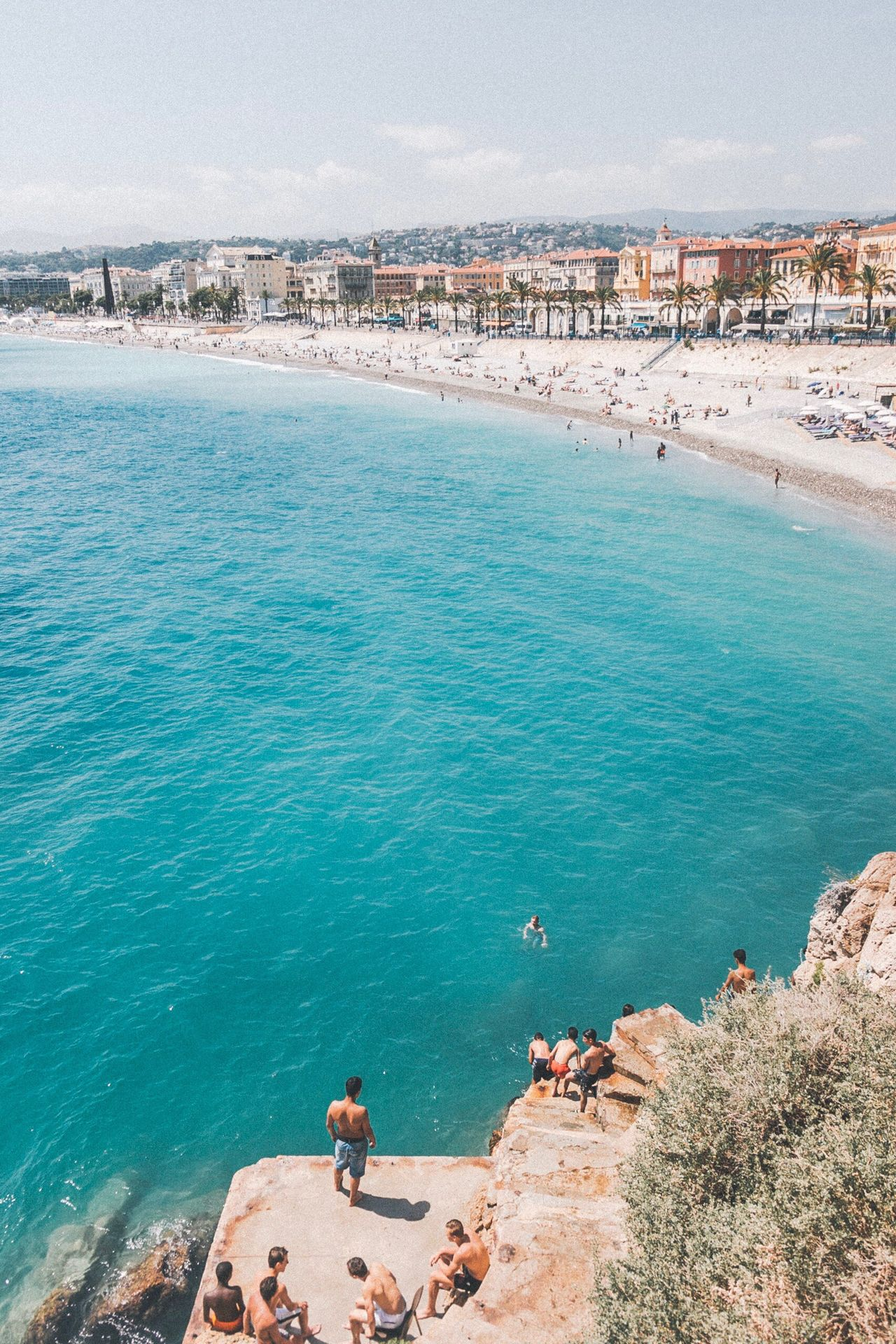 French Riviera summer vibes Water Beach High Angle View Day Nature Sand Scenics Rock - Object Beauty In Nature Outdoors Tranquility Architecture Built Structure Large Group Of People Real People Sky Building Exterior Horizon Over Water Swimming EyeEm Best Shots France EyeEm Live For The Story Live For The Story The Great Outdoors - 2017 EyeEm Awards