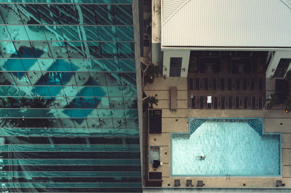 Afternoon Swim Air Conditioner Architecture Arial Shot Blue Building Exterior Built Structure City Life City Living Day Geometric Architecture Geometric Shape Luxury Hotel Luxurylifestyle  No People Outdoors Perspectives And Dimensions Pool Skyscrapers Split Swimming Pool Swimming Time Travel Destinations Traveling Photography Urban Exploration Urban Lifestyle