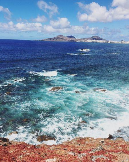 Summer16 Gran Canaria Las Palmas De Gran Canaria Atlantic Ocean Beach First Eyeem Photo