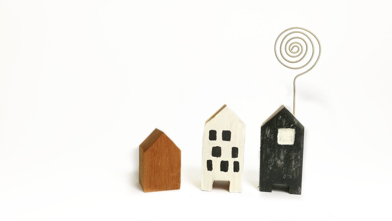 House Home Studio Shot Close-up Toy Indoors  Indoors  Business Finance And Industry White Background Toy Block