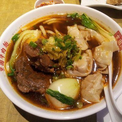 No. 1 beef noodles.