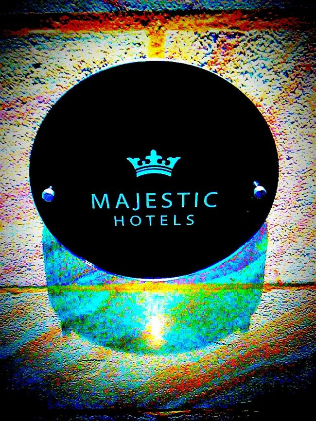 Majestic Hotels Hotel Names Wall Plaque Hotel Sign SignSignEverywhereASign MajesticHotel Hotels Majesty