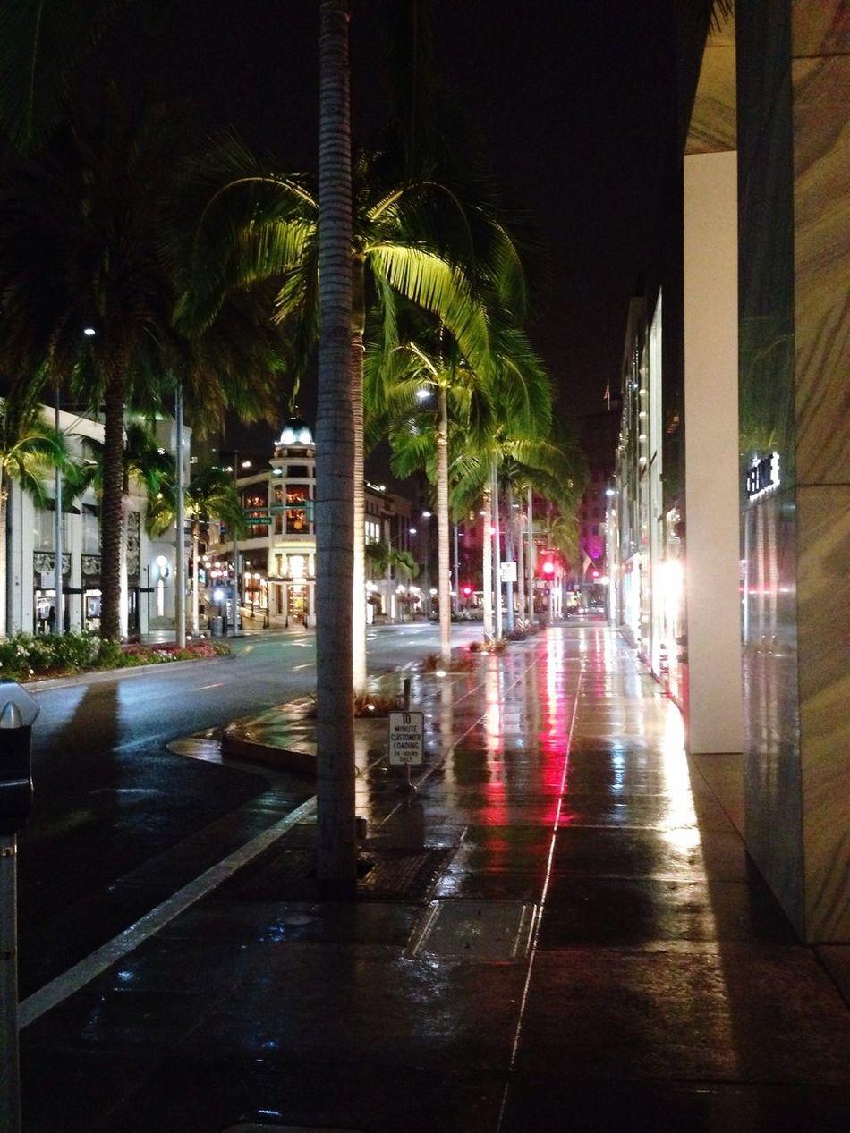 A nightly stroll