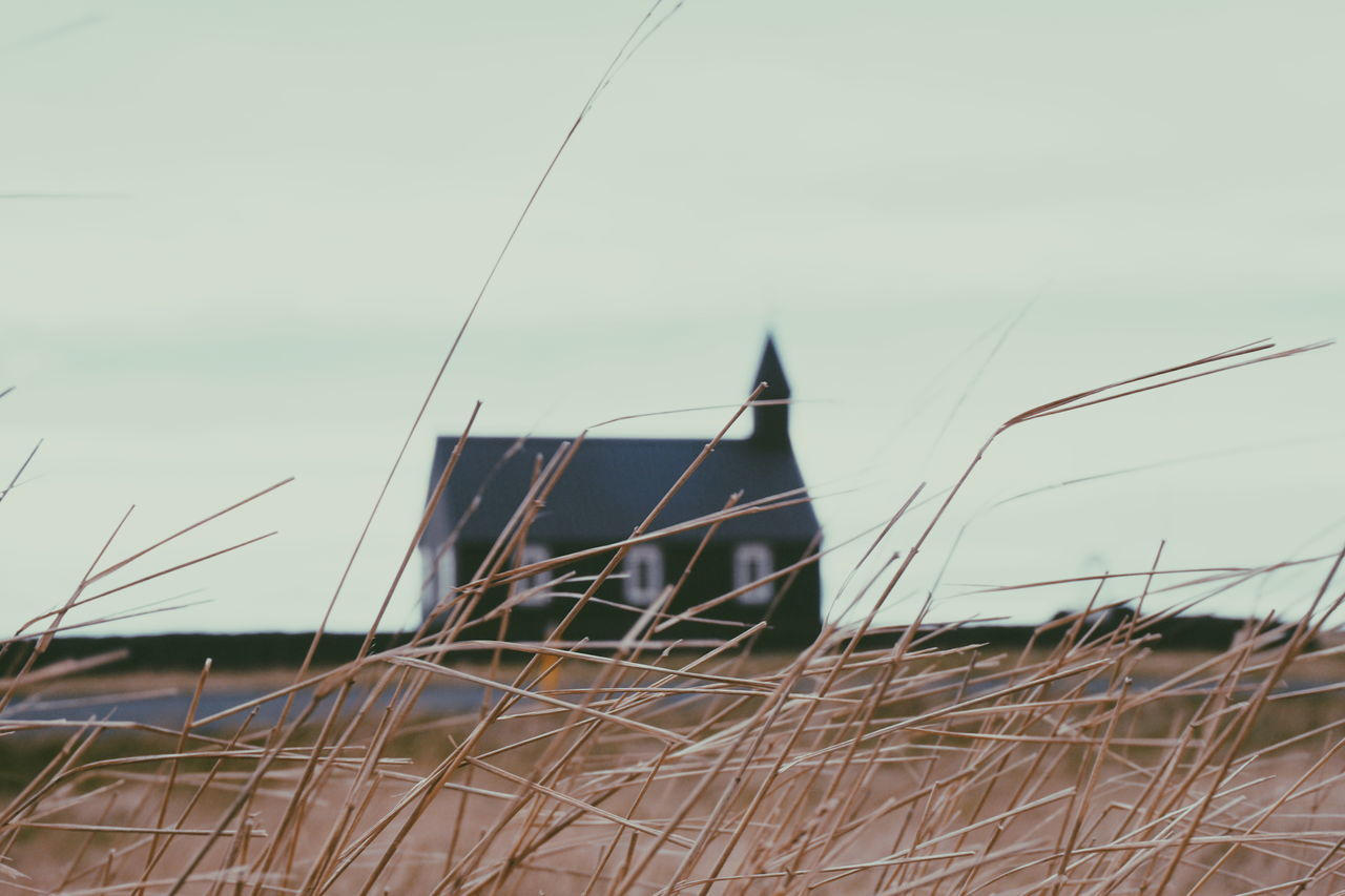 Budir the black church Architecture Building Exterior Búðir Church Churches Close-up Day Grass Iceland Iceland Memories Iceland Trip Iceland_collection Icelandtrip Nature No People Outdoors Sacred Sacred Places Sky The Great Outdoors - 2017 EyeEm Awards